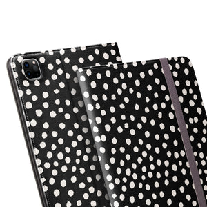 PAINTED DOTS Black iPad Pro Case