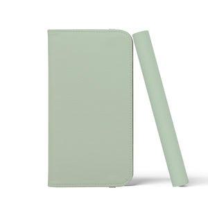 PLAIN COLOUR Lily Green Wallet Case