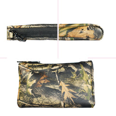 TPK Valuables Pouch - Valuables Pouch - Realtree Hardwood, Full Grain Leather Pouch