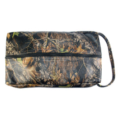 TPK Full Grain Leather Shoe Bag, Mossy Oak