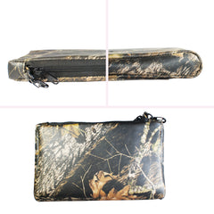 TPK Valuables Pouch - Valuables Pouch - Mossy Oak, Full Grain Leather Pouch