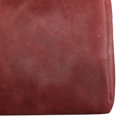 TPK Valuables Pouch - Valuables Pouch - Burgundy Red, Full Grain Leather Pouch