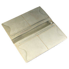 TPK Checkbook Holder – US Air Force -Sage, Nubuck Suede Leather Checkbook Cover