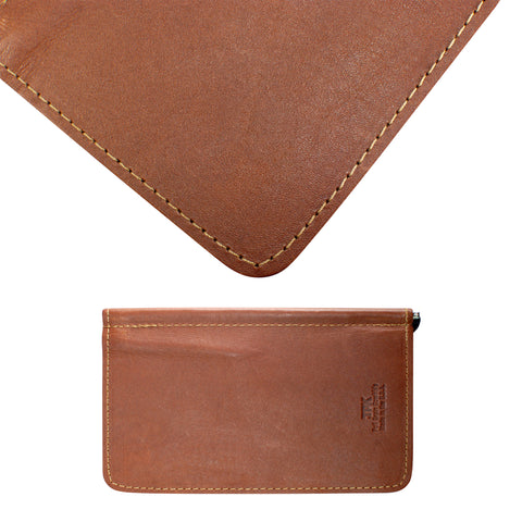 Chestnut Brown, Full Grain Leather Scorecard Holder