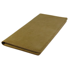 TPK Checkbook Holder – United States Marine Corps - Olive, Nubuck Suede Leather Checkbook Cover