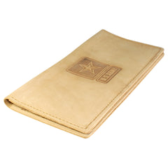 TPK Checkbook Holder - United States Army - Desert Sand, Nubuck Suede Leather Checkbook Cover