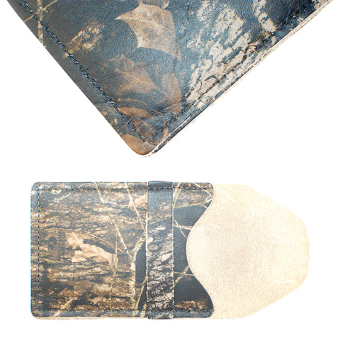 TPK Business Card Holder  – Mossy Oak, Full Grain Leather Business Card Holder