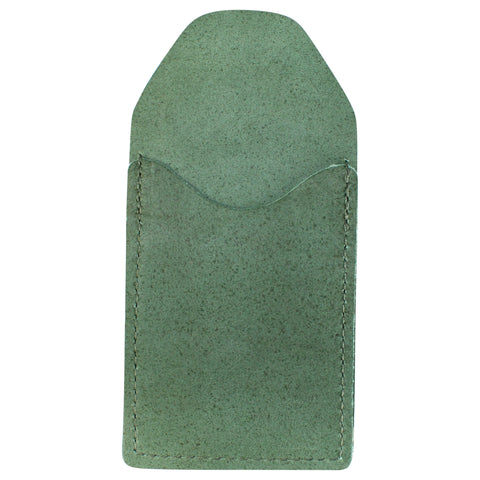 TPK Business Card Holder  – Fairway Green, Full Grain Leather Business Card Holder