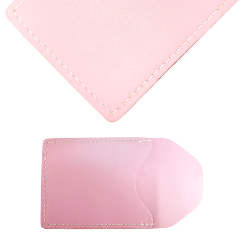 TPK Business Card Holder  – Pink, Full Grain Leather Business Card Holder