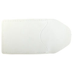 TPK Business Card Holder  – White Pearl, Full Grain Leather Business Card Holder