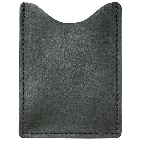 TPK License Holder  – Ebony Black, Premium Full Grain Leather License Holder or License Wallet