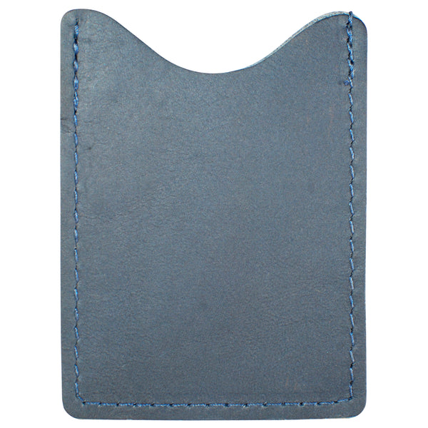 TPK License Holder  – Ocean Blue Napa, Premium Full Grain Leather License Holder or License Wallet