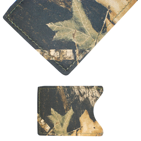 TPK License Holder  – Mossy Oak, Full Grain Leather License Holder or License Wallet