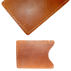 TPK License Holder  – Chestnut Brown, Full Grain Leather License Holder or License Wallet
