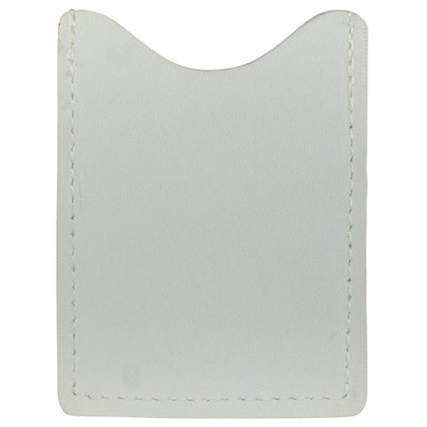 TPK License Holder  – White Pearl, Full Grain Leather License Holder or License Wallet