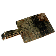 TPK Leather Line Bag Tags – Realtree Hardwoods, Premium Leather Luggage Tag