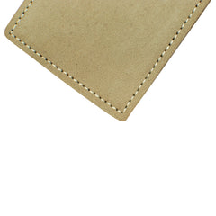 Military Back Saver Wallet – United States Air Force – Light Sage, Nubuck Suede Leather with Front Pocket Design