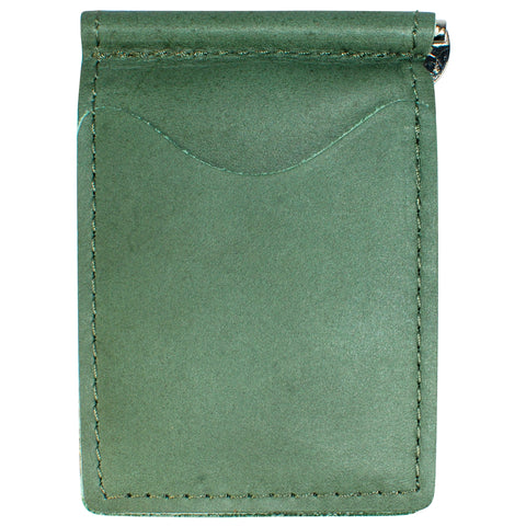 Backsaver Leather Wallet GREEN or RED