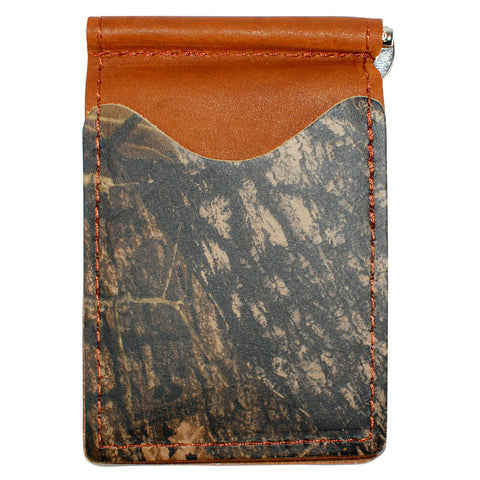 Brown Mossy Oak - Full Grain Leather