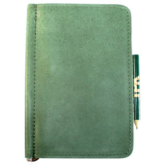 TPK Scorecard Holders – Fairway Green, Full Grain Leather Scorecard Holder –  Store Yardage Book Holder for Golf