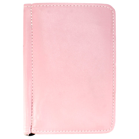 TPK Scorecard Holders – Pink, Full Grain Leather Scorecard Holder