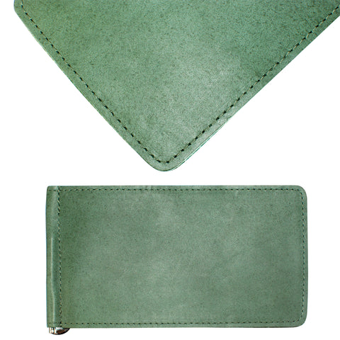Yardage PGA Book Holder - Professional Tour Version, Fairway Green, Full Grain Leather Book Cover