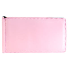 Yardage PGA Book Holder - Professional Tour Version, Pink, Full Grain Leather Book Cover