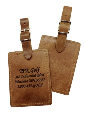 Golf Bag Tag - Rectangular