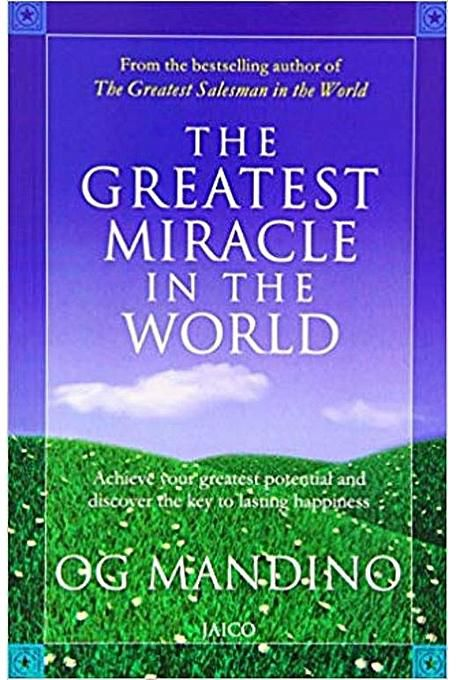 The Greatest Miracle in the World- Achieve your greatest.... - BOOKS FIRST ~ Mad About Books