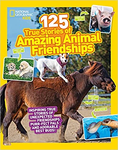 125 True Stories of Amazing Animal Friendships - BOOKS FIRST ~ Mad About Books