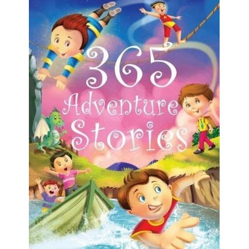 365 ADVENTURE STORIES - BOOKS FIRST ~ Mad About Books