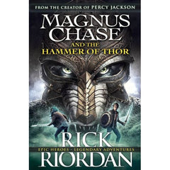 MAGNUS CHASE AND THE HAMMER OF THOR - BOOKS FIRST ~ Mad About Books