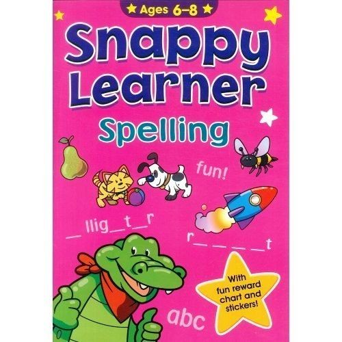 SNAPPY LEARNER  SPELLING (AGES 6 TO 8) - BOOKS FIRST ~ Mad About Books