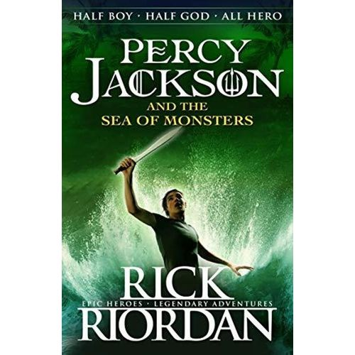 PERCY JACKSON AND THE SEA OF MONSTERS - BOOKS FIRST ~ Mad About Books