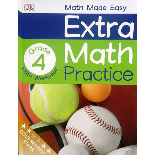 EXTRA MATH PRACTICE: FOURTH GRADE (MATH MADE EASY) - BOOKS FIRST ~ Mad About Books