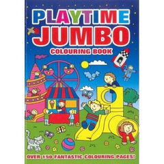 Playtime Jumbo Colouring Book - BOOKS FIRST ~ Mad About Books
