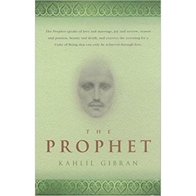 THE PROPHET-  KAHLIL GIBRAN......................... - BOOKS FIRST ~ Mad About Books