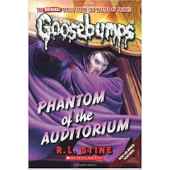 Phantom of the Auditorium(Classic Goosebumps #20)-R. L.STINE - BOOKS FIRST ~ Mad About Books