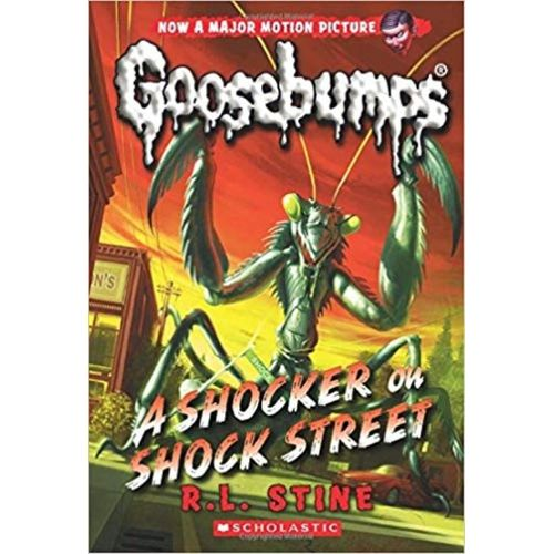 A Shocker on Shock Street (Classic Goosebumps #23)-R. L.STINE - BOOKS FIRST ~ Mad About Books