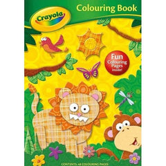 Crayola Jungle Colouring Book. - BOOKS FIRST ~ Mad About Books