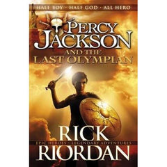 PERCY JACKSON AND THE LAST OLYMPIAN - BOOKS FIRST ~ Mad About Books