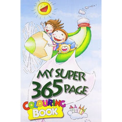 MY SUPER 365 PAGE COLOURING BOOK - BOOKS FIRST ~ Mad About Books