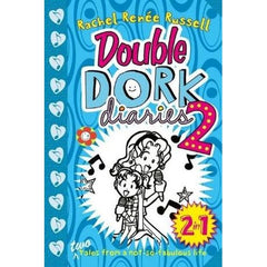 Double Dork Diaries 2 - RACHEL RENEE RUSSELL 2 in 1 - BOOKS FIRST ~ Mad About Books