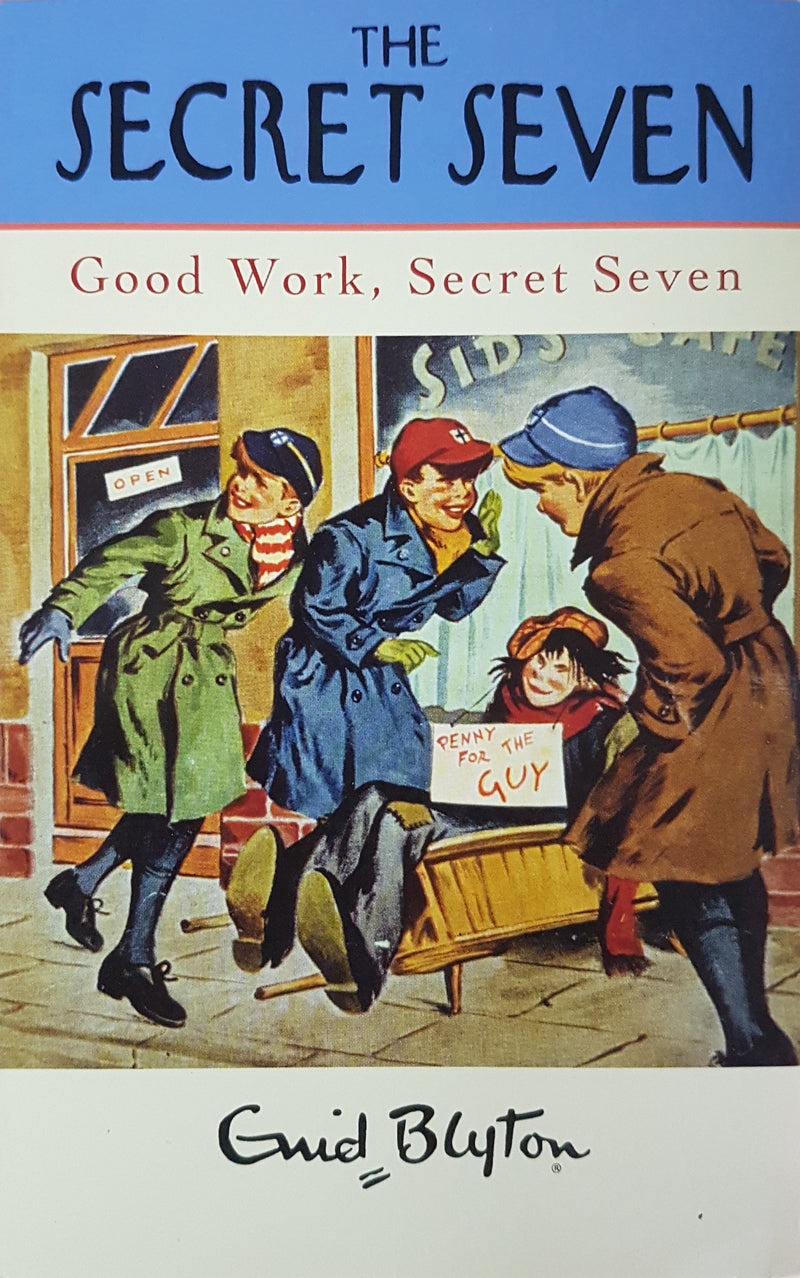 Good Work Secret Seven (Bk 6) - BOOKS FIRST ~ Mad About Books