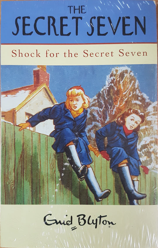 Secret Seven Shock For The Secret Seven