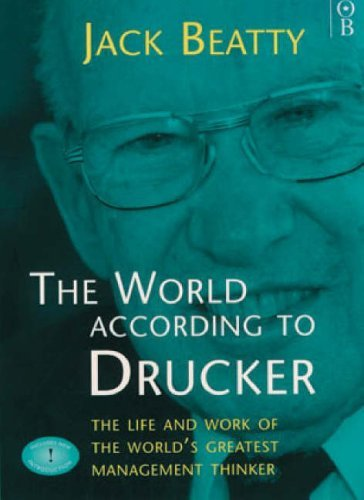 The World According To Drucker - BOOKS FIRST ~ Mad About Books