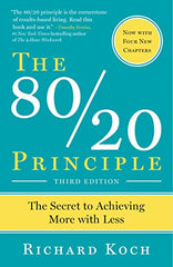 The 80/20 Principle: The Secret of Achieving More - BOOKS FIRST