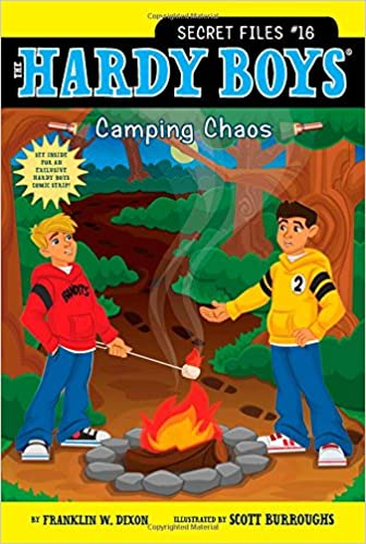 CAMPING CHAOS HARDY BOYS : (THE SECRET FILES : # 16) - BOOKS FIRST ~ Mad About Books