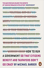 HOW TO RUN A GOVERNMENT SO THAT CITIZENS BENEFIT AND TAXPAYERS DON'T GO CRAZY - BOOKS FIRST ~ Mad About Books