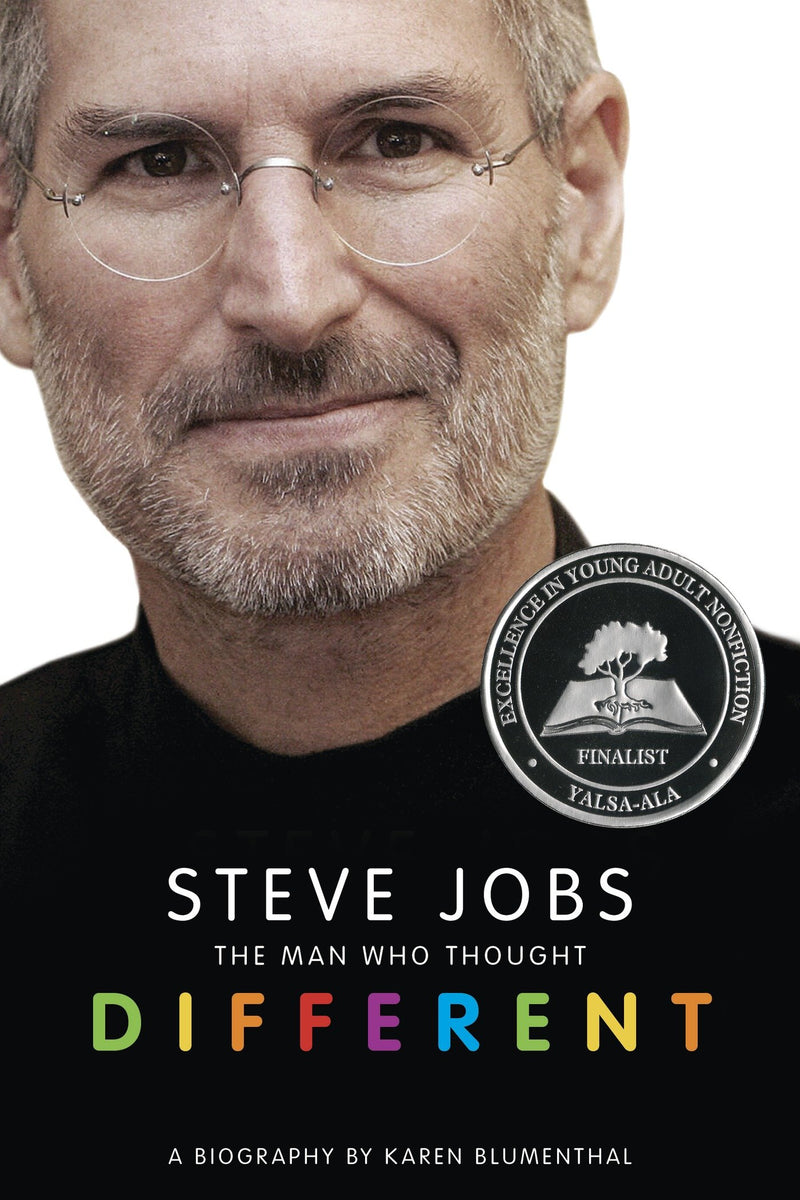 Steve Jobs: The Man Who Thought Different: A Biography (Paperback) - BOOKS FIRST ~ Mad About Books